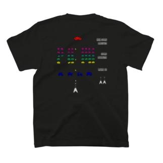 ギター インベーダー - GUITAR INVADER T-shirts