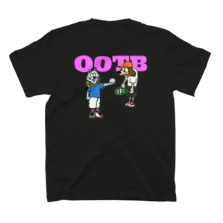 relax in nature OOTB black T-shirts