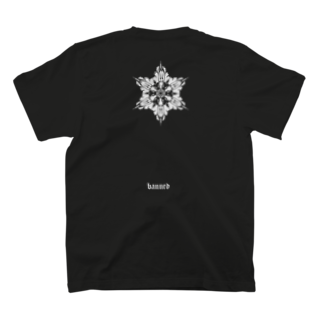 bannedのbanned snow T-shirts