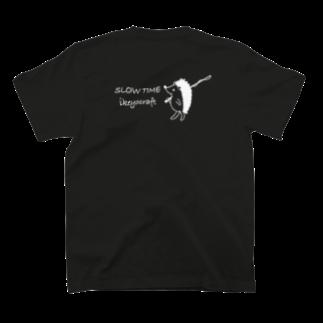 ikeyocraft のHali Nezumi バックプリント T-shirts