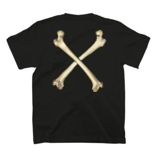 #11 Huesos Cruzados  T-shirts