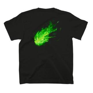 キキョウTシャツ(黒系) T-shirts