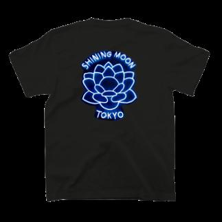 ぶらっくれでぃめでたいのシャイニングムーントウキョウ ネオン T-shirts