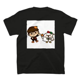 ひでんくんとおーなー T-shirts