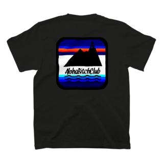 AlohaBitchClub ロゴTシャツ T-shirts