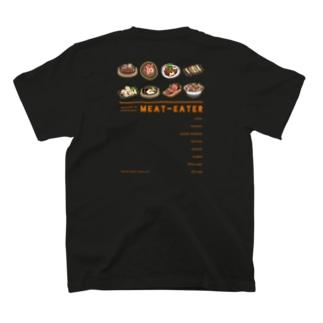 毎日お肉食べたい気持ちを背中で語る T-shirts