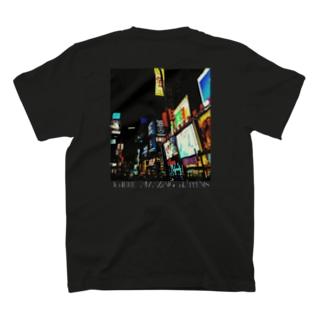Where amazing happens blk T-shirts