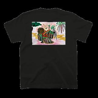 花と雲の藤娘ドロシー 歌舞伎 T-shirts
