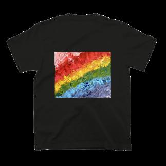 私のお店屋さんのright Rainbow T-shirts