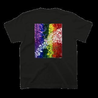 私のお店屋さんの虹 T-shirts