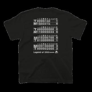 BASEBALL LOVERS CLOTHINGの「334」白文字でスコアバージョン T-shirtsの裏面