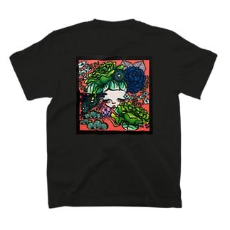 耳に花 T-shirts