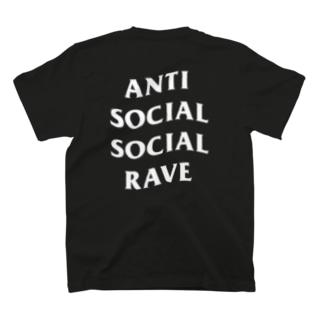ANTI SOCIAL SOCIAL RAVE Tee T-shirts