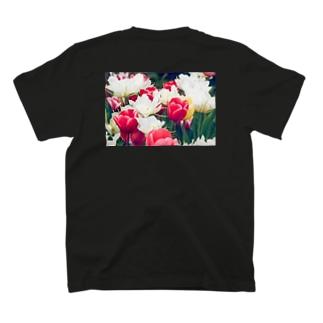 チューリップ Tシャツ(back) T-shirts