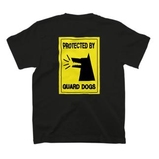 警備犬在駐 T-shirts