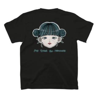 お団子チャイナガールちゃん T-shirts