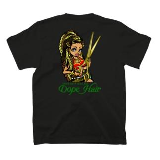 ジェシカ(BigScissors)グリーンロゴ T-shirts