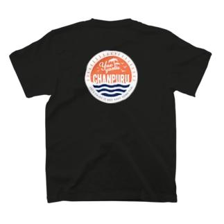 やえちゃん公式(裏面ロゴ入り) T-shirts