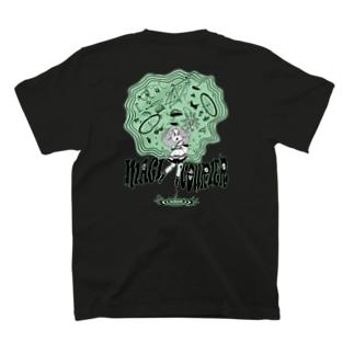 """MAGI COURIER"" green #2 T-Shirt"