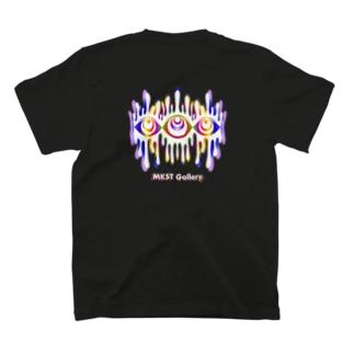 Melting eyes_hologram #2 T-shirts