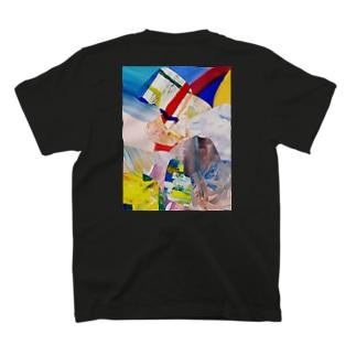 ATELIER SUIのHIDEコラージュ T-shirts