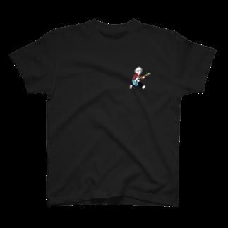 踊るこどもたちの夢はロックスター T-shirts