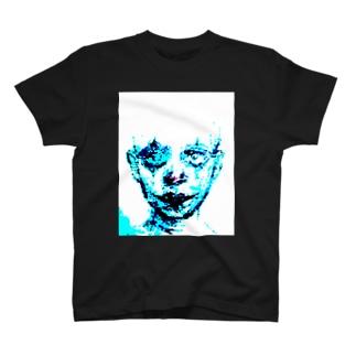 clown wet T-shirts