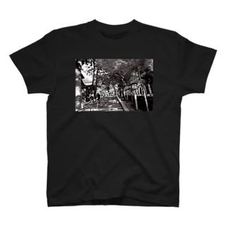 京都の朝 Tシャツ