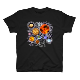 「花籠」Series * planetflower T-shirts