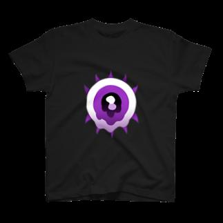 悪天🦄✨のパープルアイ T-shirts