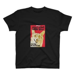 コーギーリッチ ポスターver T-shirts