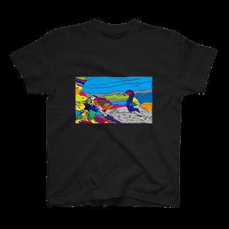 kkktttのパフィンちゃん T-shirts
