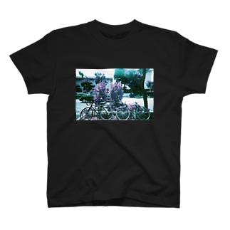 自転車。 T-shirts
