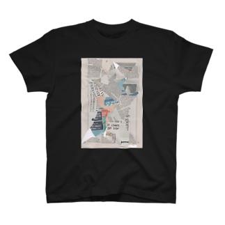 コラージュ T-shirts