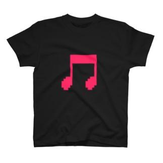 音符アイコン T-shirts