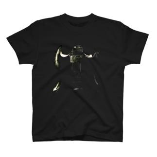 ギター 白黒 SG T-shirts