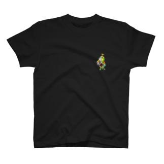 ROBOBO ボウシインコのボウ助ロボ T-shirts