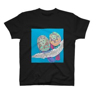 ムベンべ・バードのつがい Tシャツ
