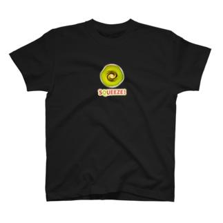 Squeeze! Kiwifruits T-shirts