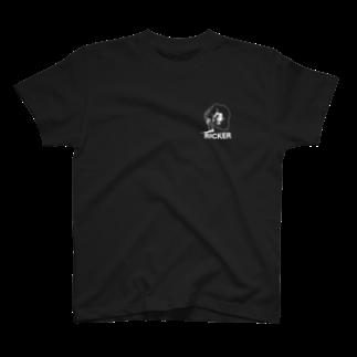 RICKERのAsh rises S/S Tee T-shirts