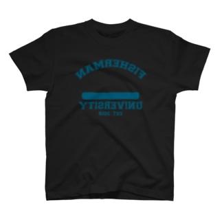 Fisherman University reverse T-shirts