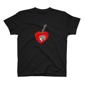 ハ~トのキ~ホルダ~ T-shirts