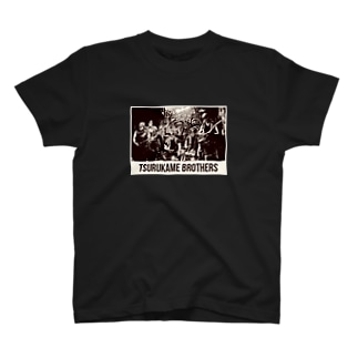 つるかめ兄弟グッズ T-shirts