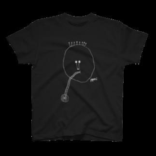ppoiの「チュルチュル」白線ver T-shirts