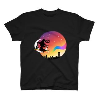 色えんぴつの魔女 T-shirts