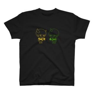 風児と雷児の休日inネオン街 T-shirts