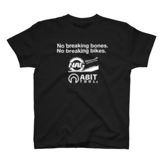 ナグモ&エイビット/白文字 T-shirts