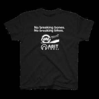 エイビットのナグモ&エイビット/白文字 T-shirts