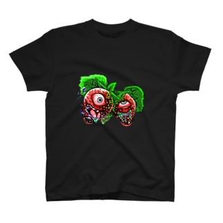 strange red T-shirts