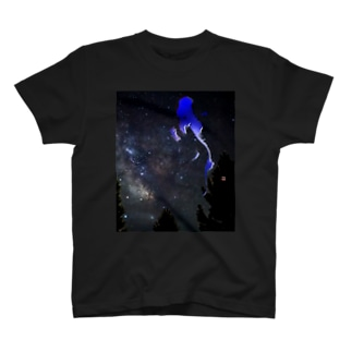 青い月 T-shirts